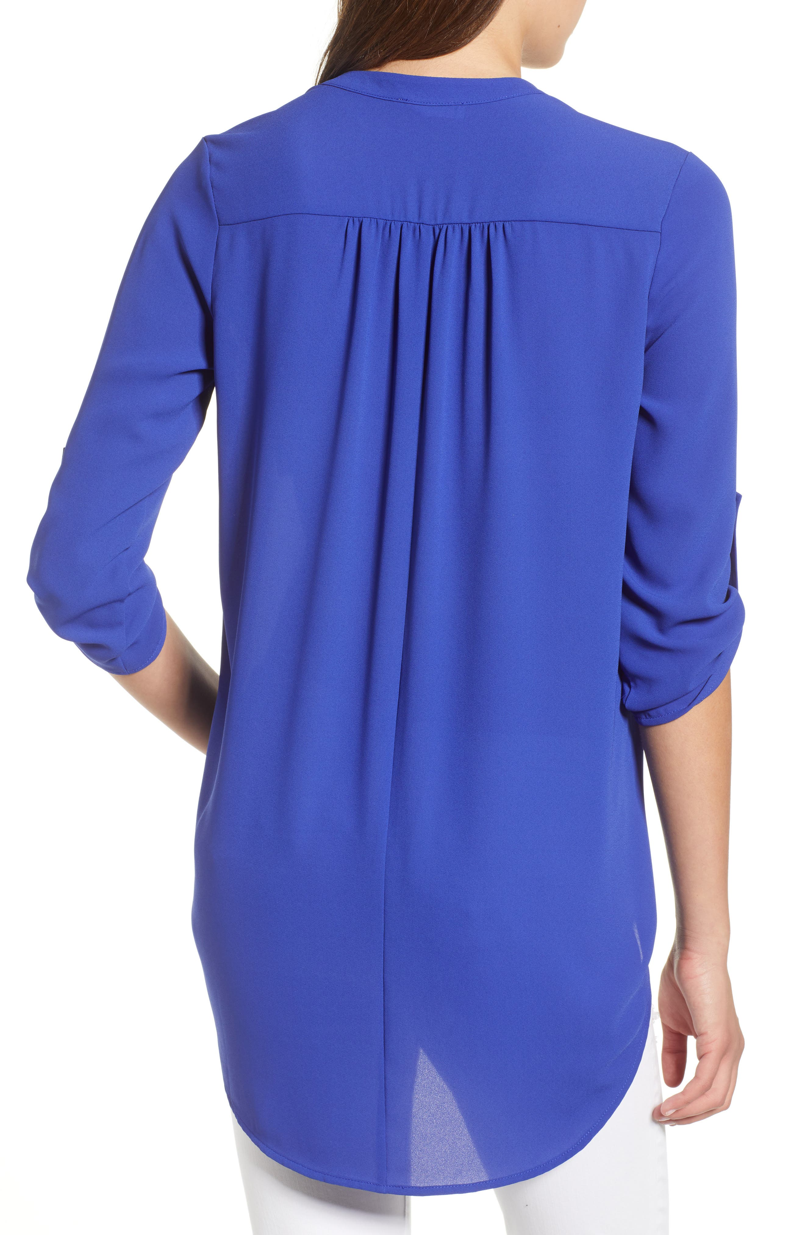 ,                             Perfect Roll Tab Sleeve Tunic,                             Alternate thumbnail 93, color,                             425