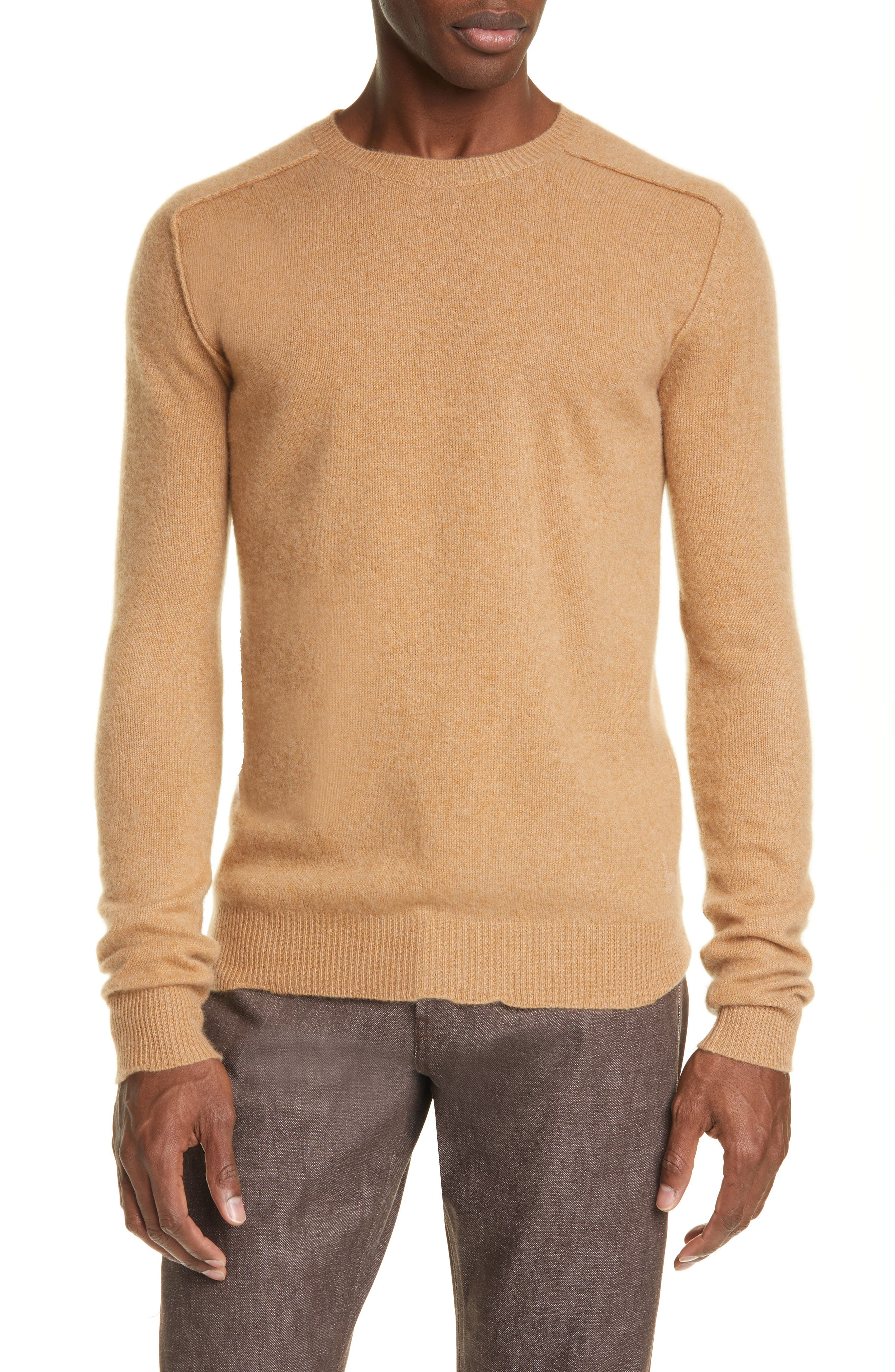 A finely knit Italian-made sweater in a classic silhouette is made from pure cashmere for wonderful softness. Style Name: Bottega Veneta Core Cashmere Pullover Sweater. Style Number: 5959773. Available in stores.