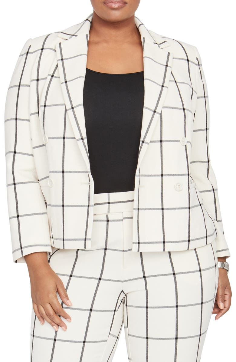 RACHEL ROY COLLECTION Double Breasted Jacket, Main, color, 900