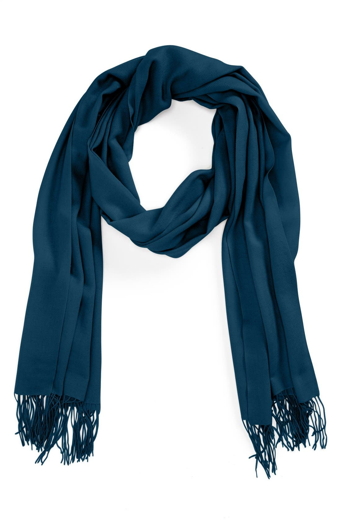 ,                             Tissue Weight Wool & Cashmere Wrap,                             Main thumbnail 112, color,                             476