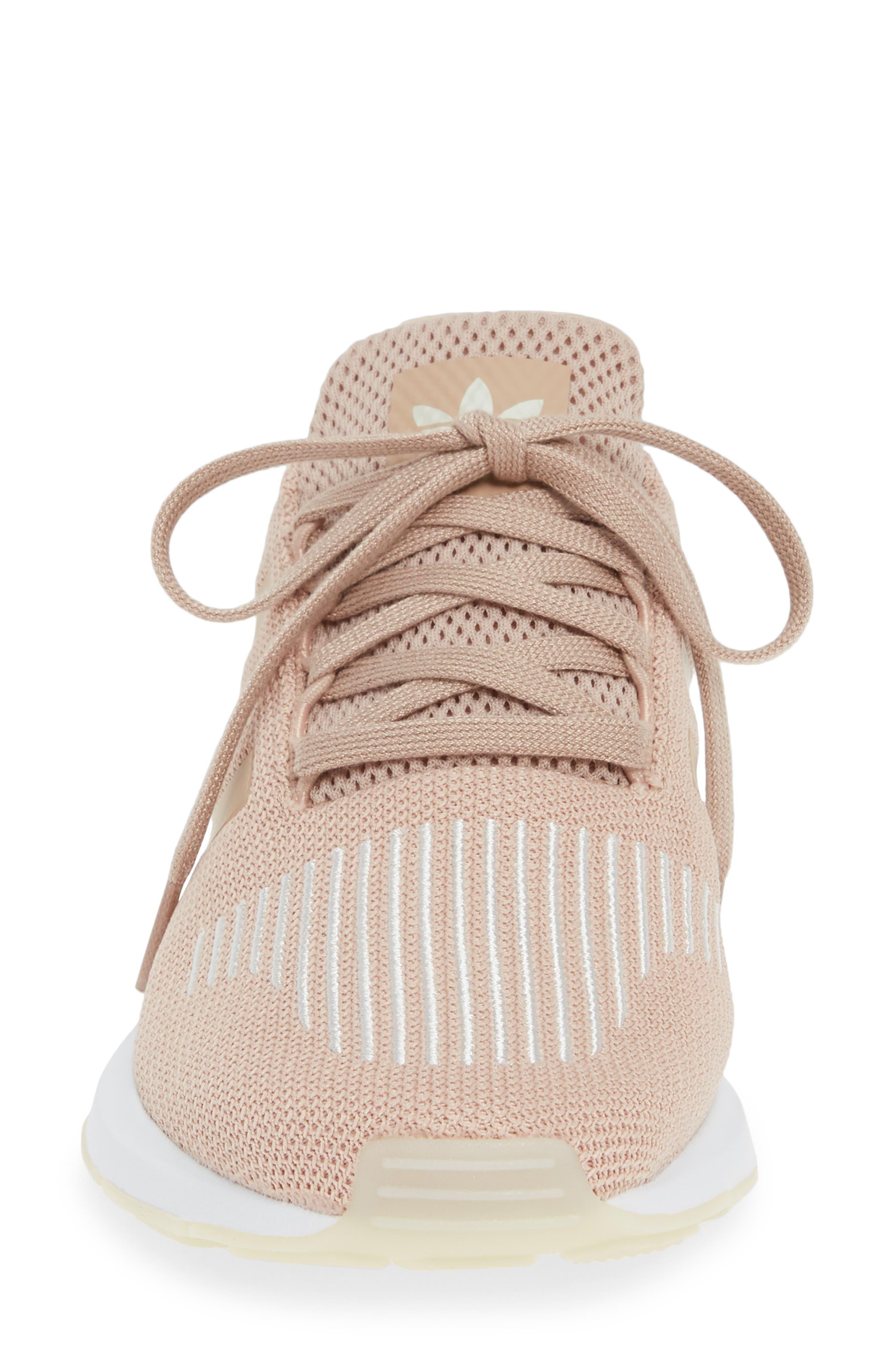 ,                             Swift Run Sneaker,                             Alternate thumbnail 4, color,                             ASH PEARL/ OFF WHITE/ WHITE