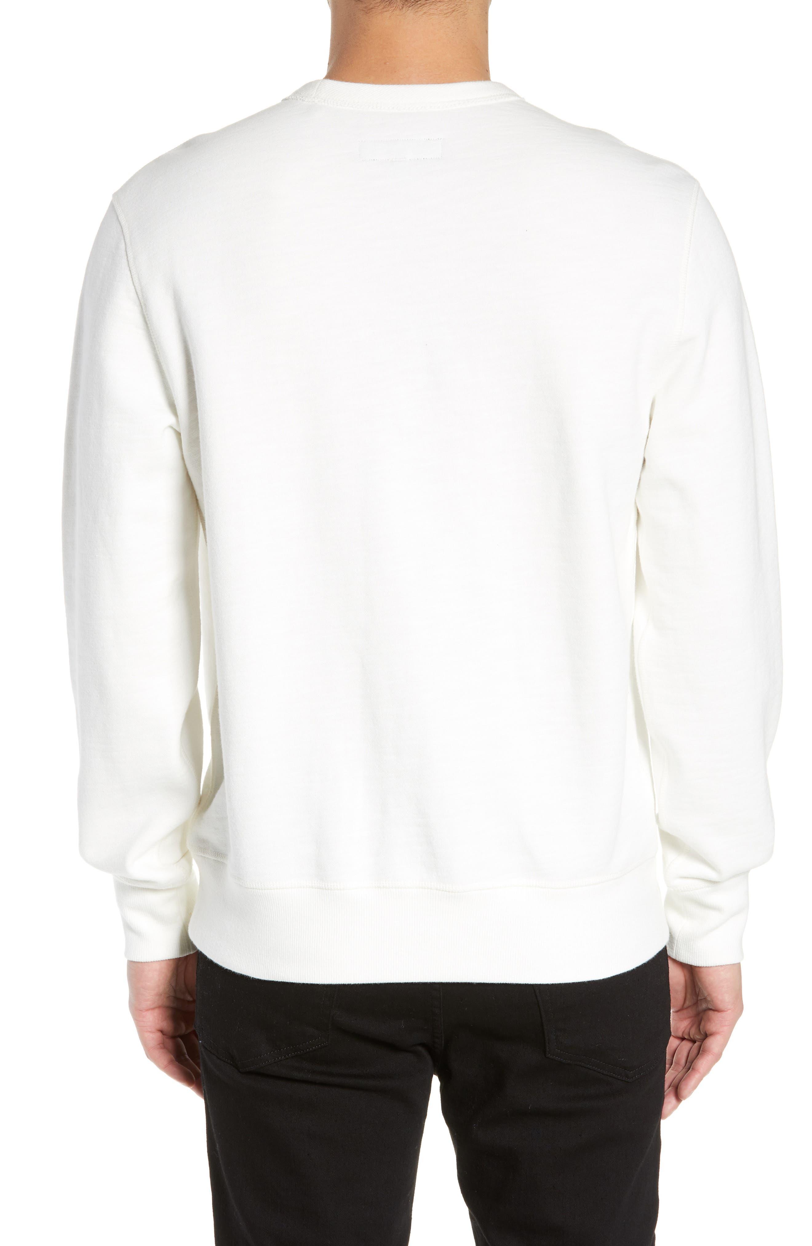 ,                             Rorschach Slim Fit Sweatshirt,                             Alternate thumbnail 2, color,                             IVORY