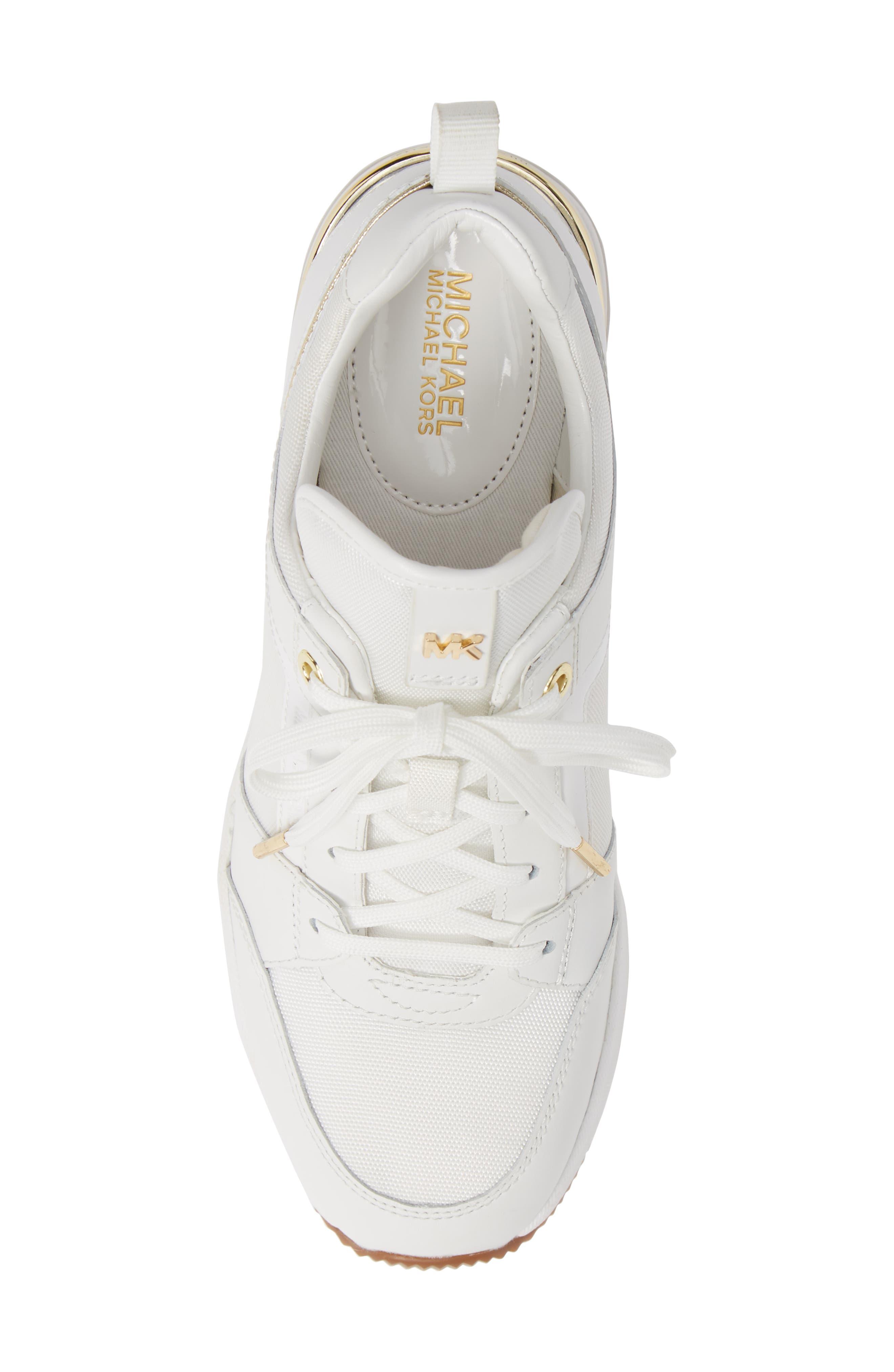 ,                             Georgie Wedge Sneaker,                             Alternate thumbnail 11, color,                             100