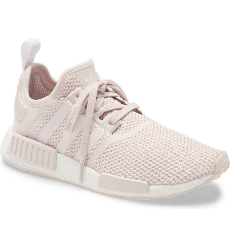 ADIDAS NMD_R1 Sneaker, Main, color, ORCHID TINT/ WHITE