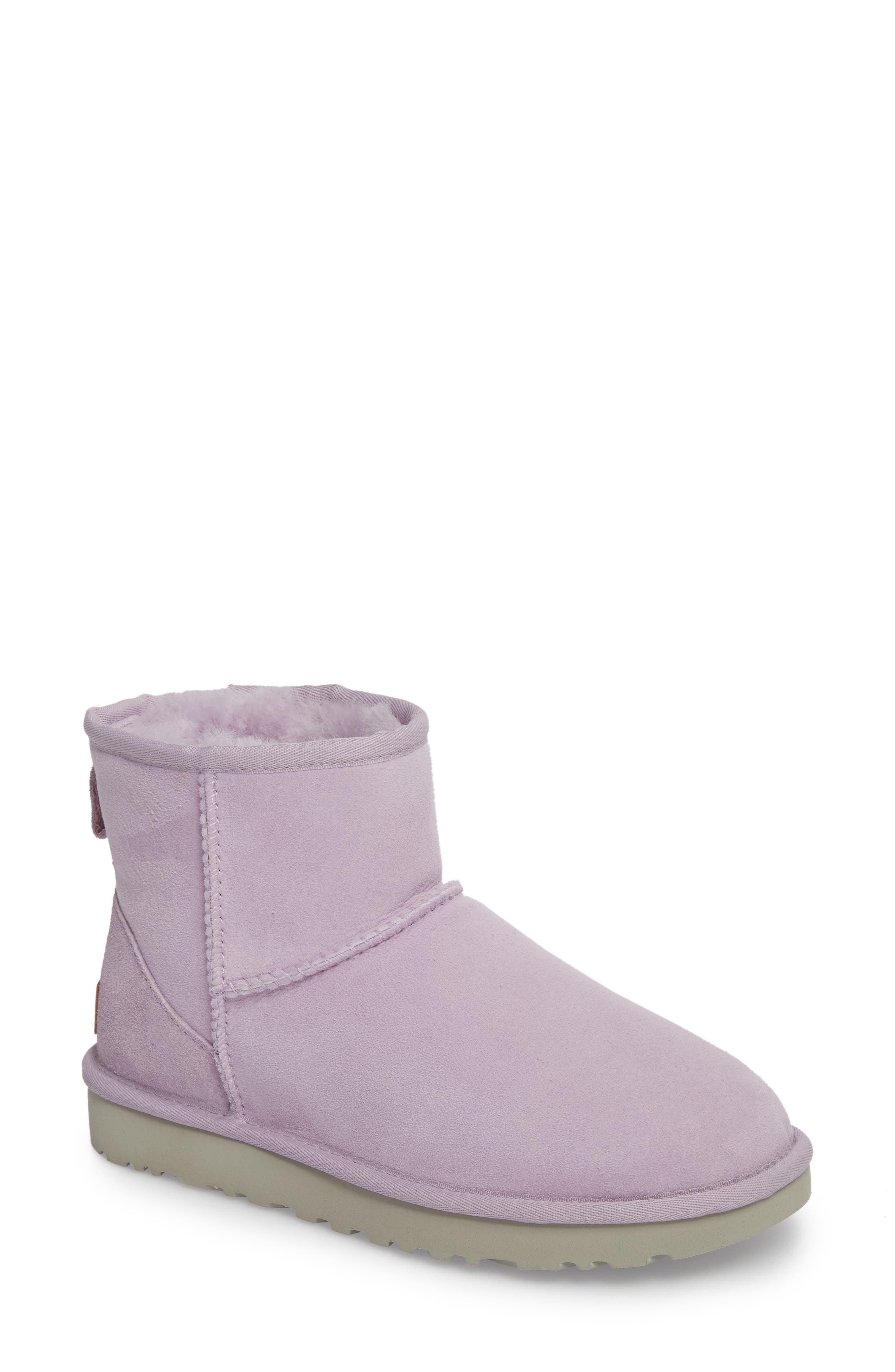 ,                             Classic Mini II Genuine Shearling Lined Boot,                             Main thumbnail 55, color,                             538