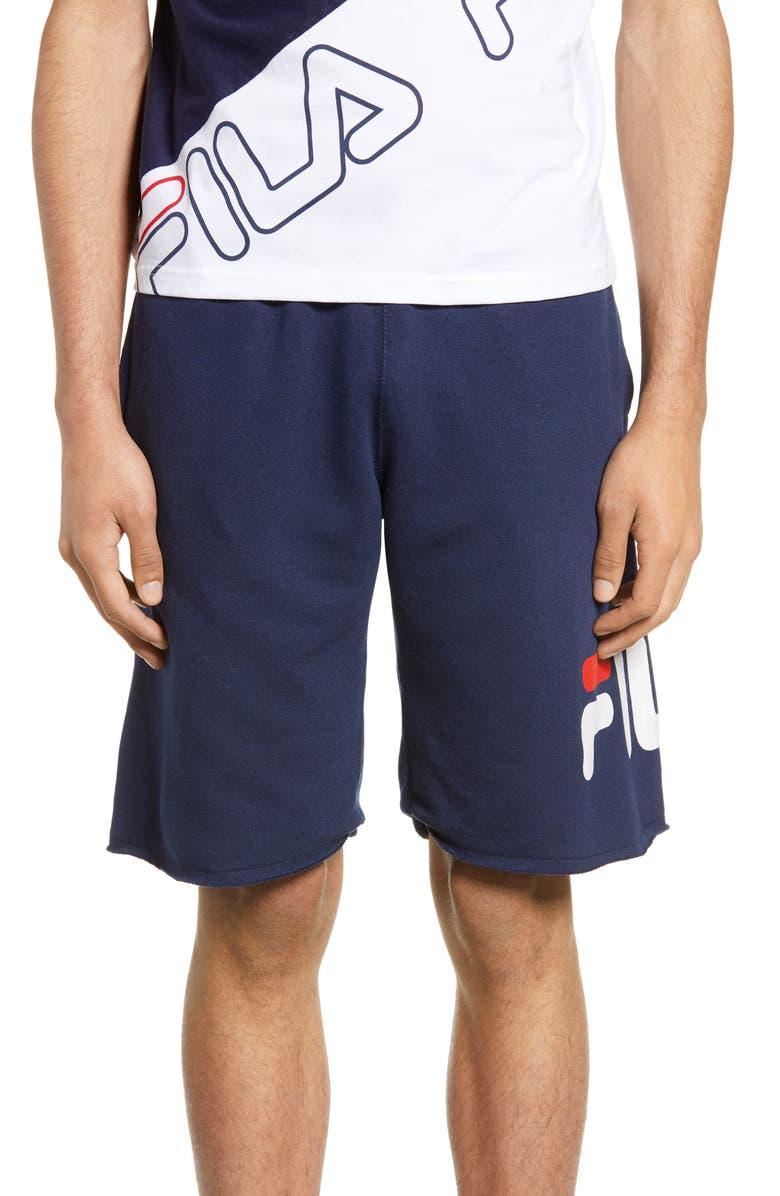 FILA George Athletic Shorts, Main, color, PEACOAT