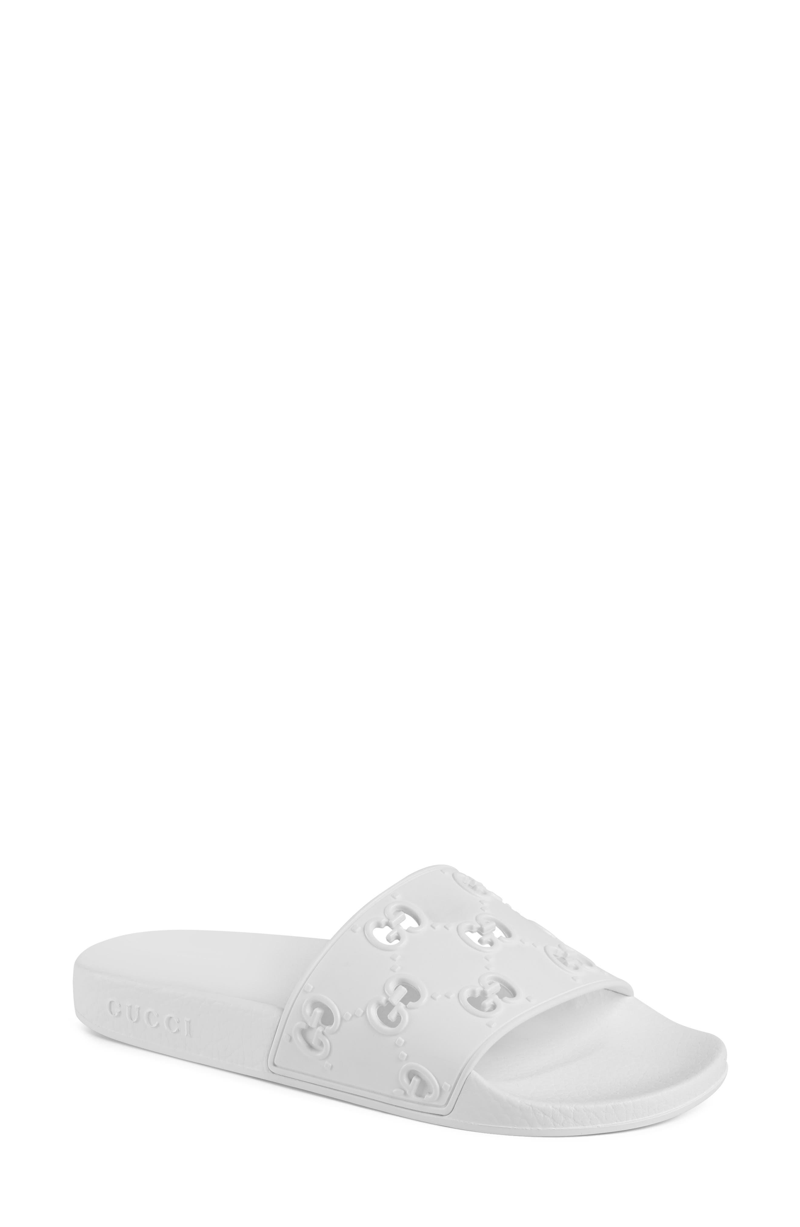 Gucci Pursuit GG Logo Slide Sandal