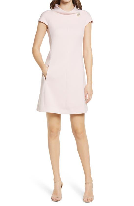 Harper Rose Dresses STAND COLLAR A-LINE DRESS