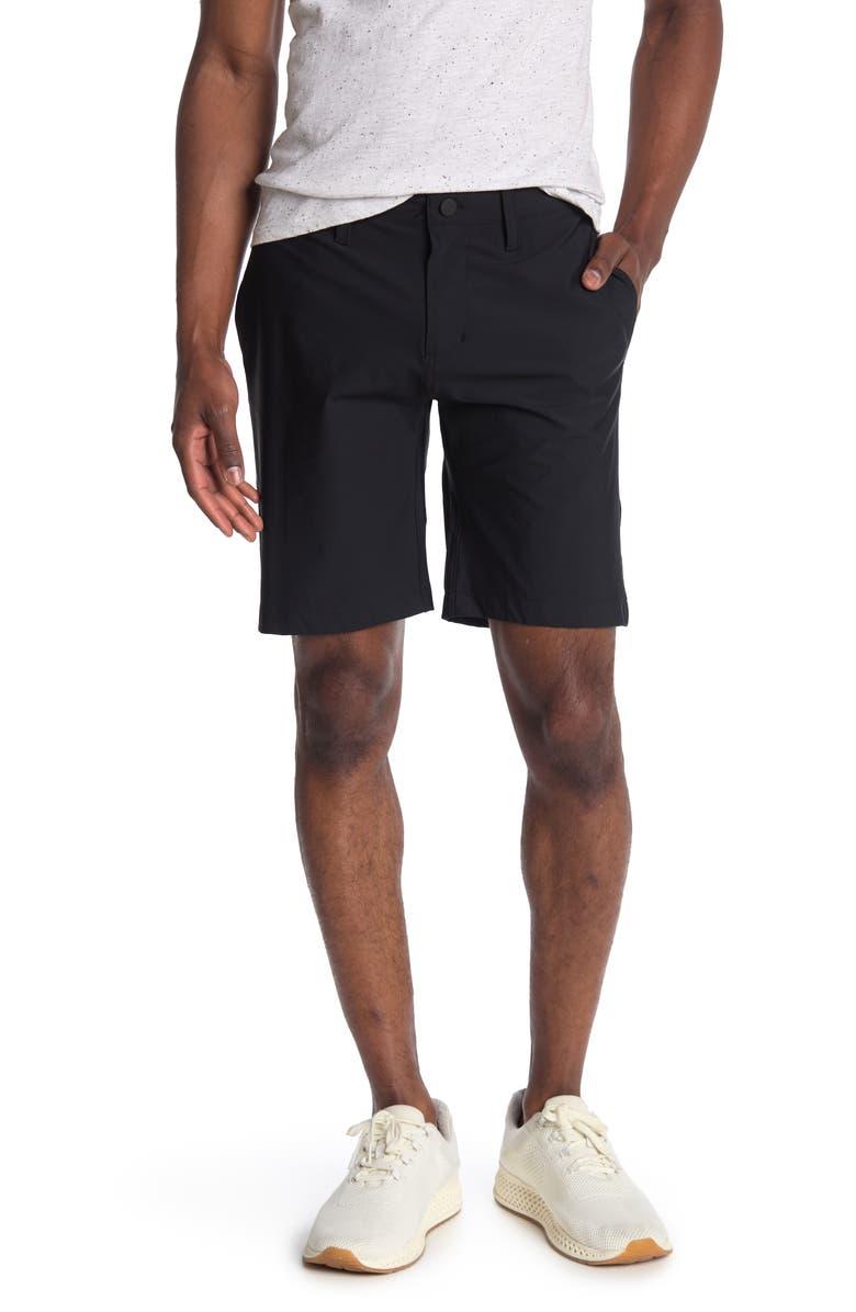 Z BY ZELLA Blade Golf Shorts, Main, color, BLACK