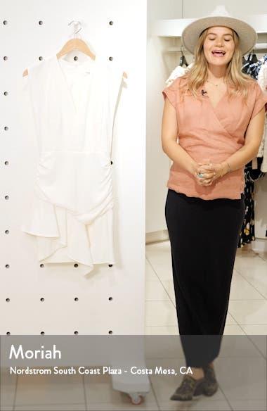 Jess Asymmetrical Minidress, sales video thumbnail
