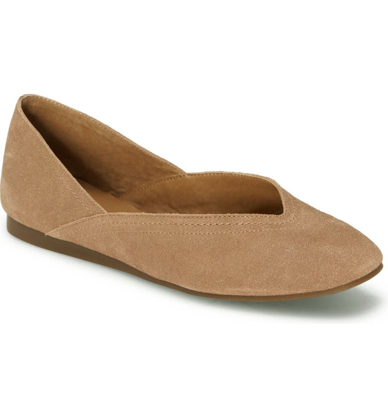 LUCKY BRAND Alba Skimmer, Main, color, MACAROON LEATHER