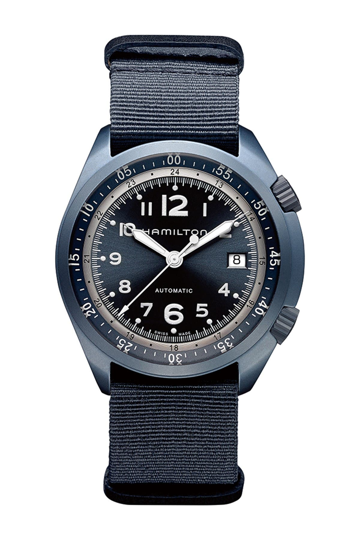 Image of Hamilton Men's Khaki Pilot Pioneer Automatic Watch, 41mm