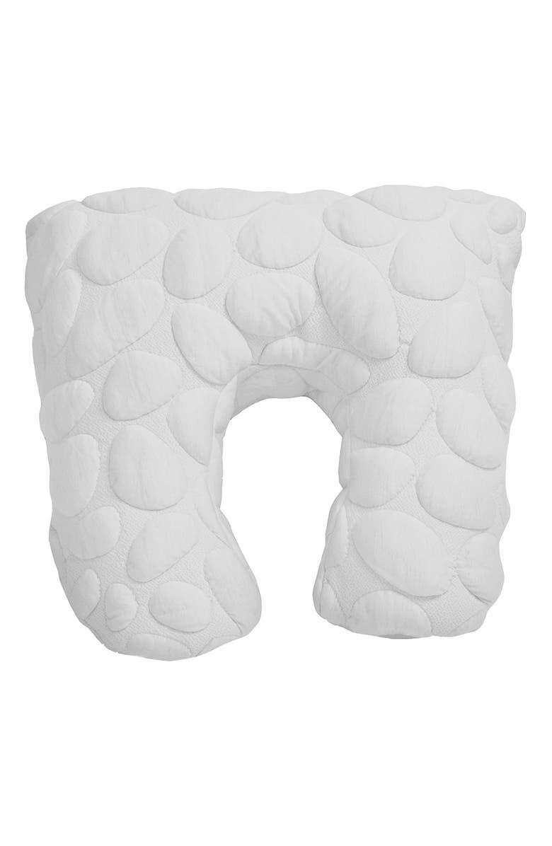 NOOK SLEEP SYSTEMS Niche Organic Cotton Feeding Pillow, Main, color, CLOUD