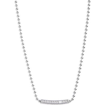 Lagos Caviar Spark Diamond Pendant Necklace