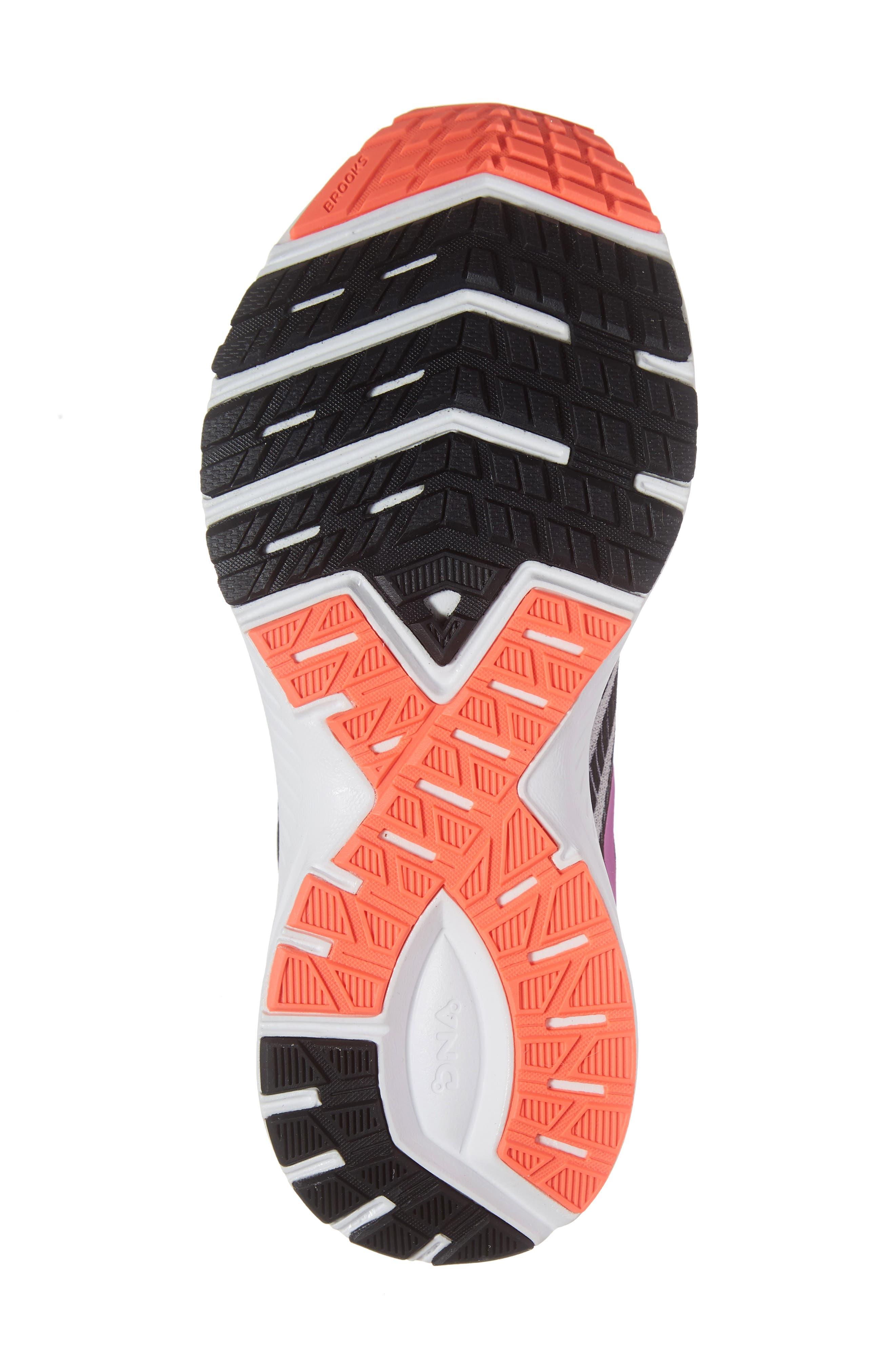 ,                             Launch 6 Running Shoe,                             Alternate thumbnail 6, color,                             GREY/ BLACK/ PURPLE