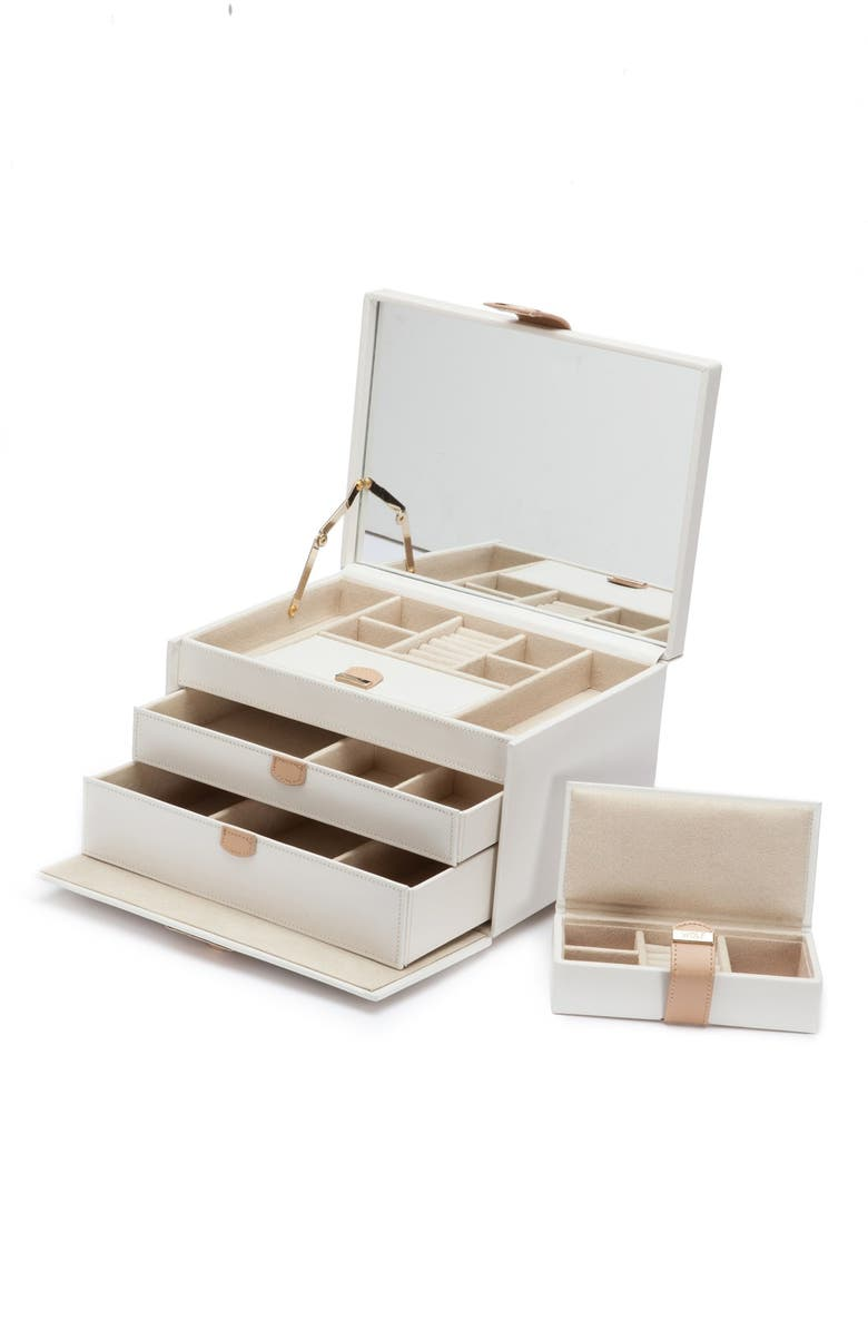 WOLF 'Chloe' Jewelry Box, Main, color, 900