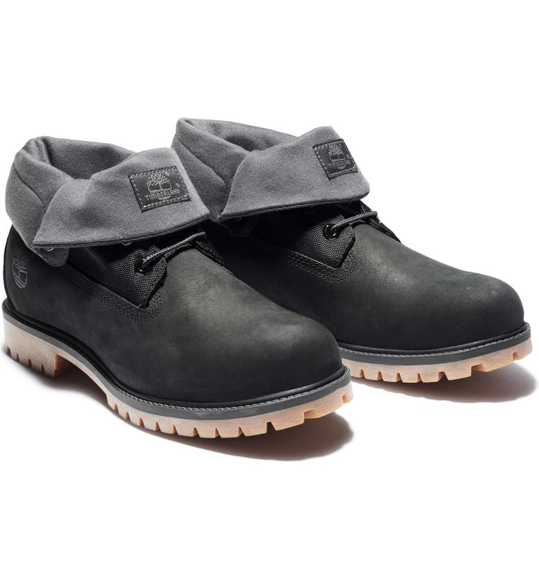TIMBERLAND 110 Plain Toe Boot, Main, color, BLACK NUBUCK