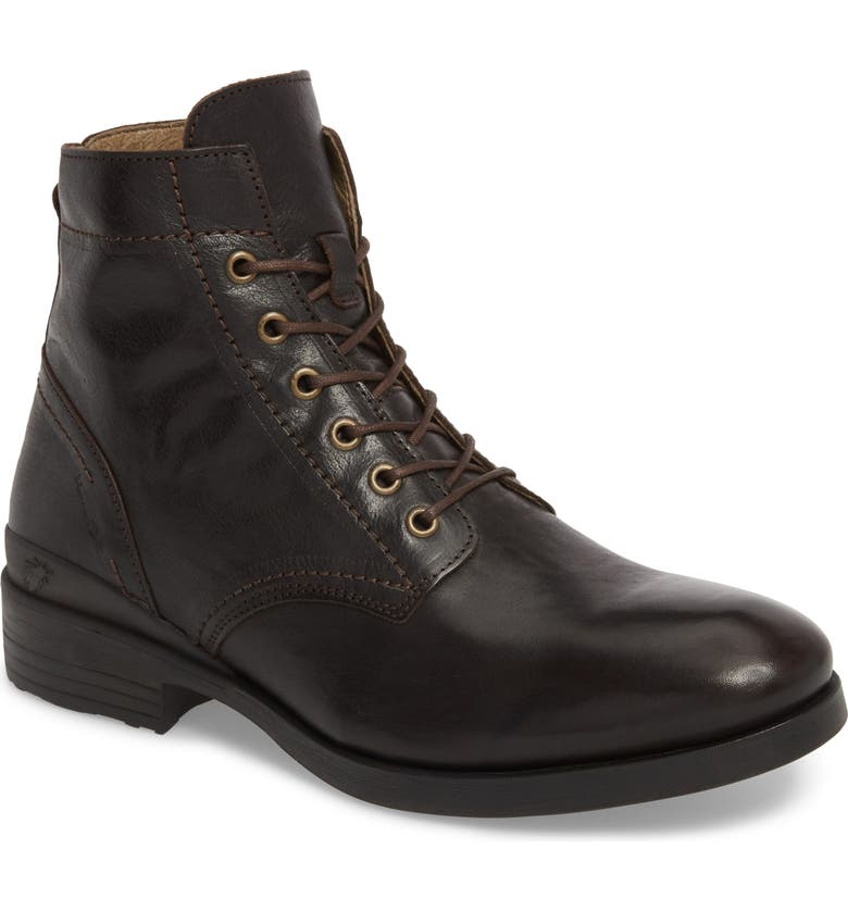 FLY LONDON Marc Combat Boot, Main, color, COFFEE APSO