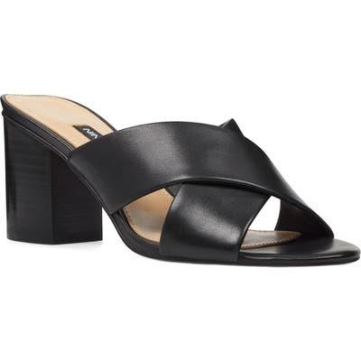 Nine West Natalia Slip-On Sandal- Black