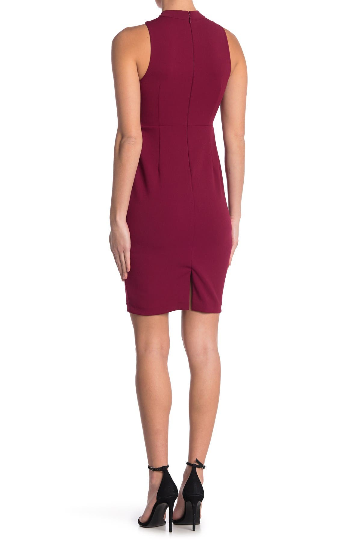 Image of GUESS Crisscross Cocktail Dress