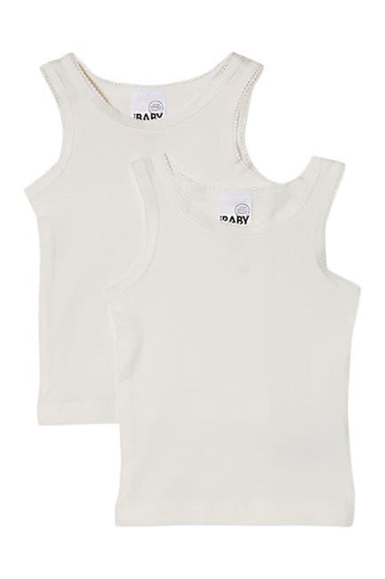 Image of Cotton On Organic Newborn Singlet - Pack of 2