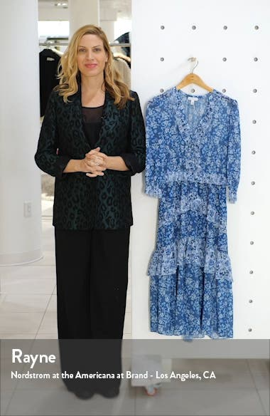 Ruffle Tier Midi Dress, sales video thumbnail