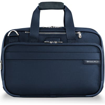 Briggs & Riley Baseline Expandable Cabin Bag - Blue