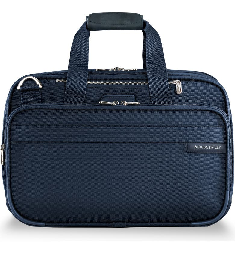 BRIGGS & RILEY Baseline Expandable Cabin Bag, Main, color, NAVY