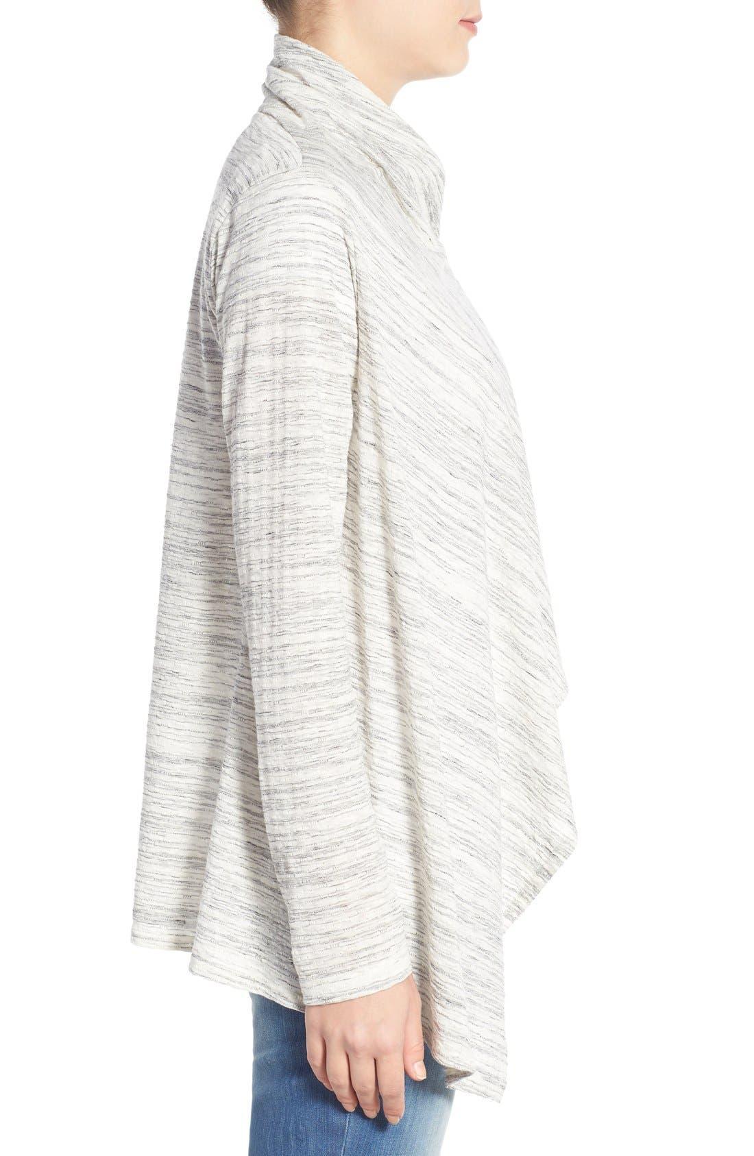 ,                             One-Button Fleece Wrap Cardigan,                             Alternate thumbnail 60, color,                             129