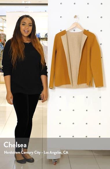 Westlynn Reversible Wool & Cashmere Jacket, sales video thumbnail
