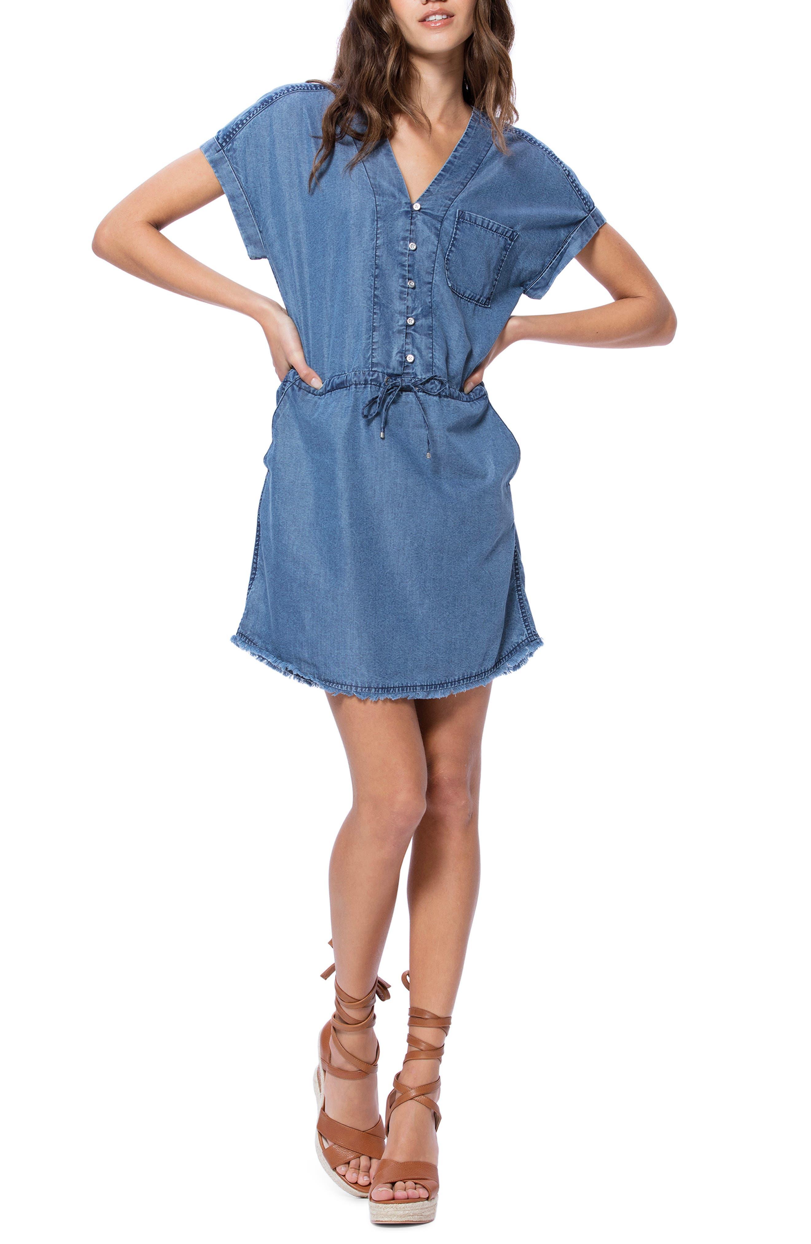 Paige Haidee Dress, Blue