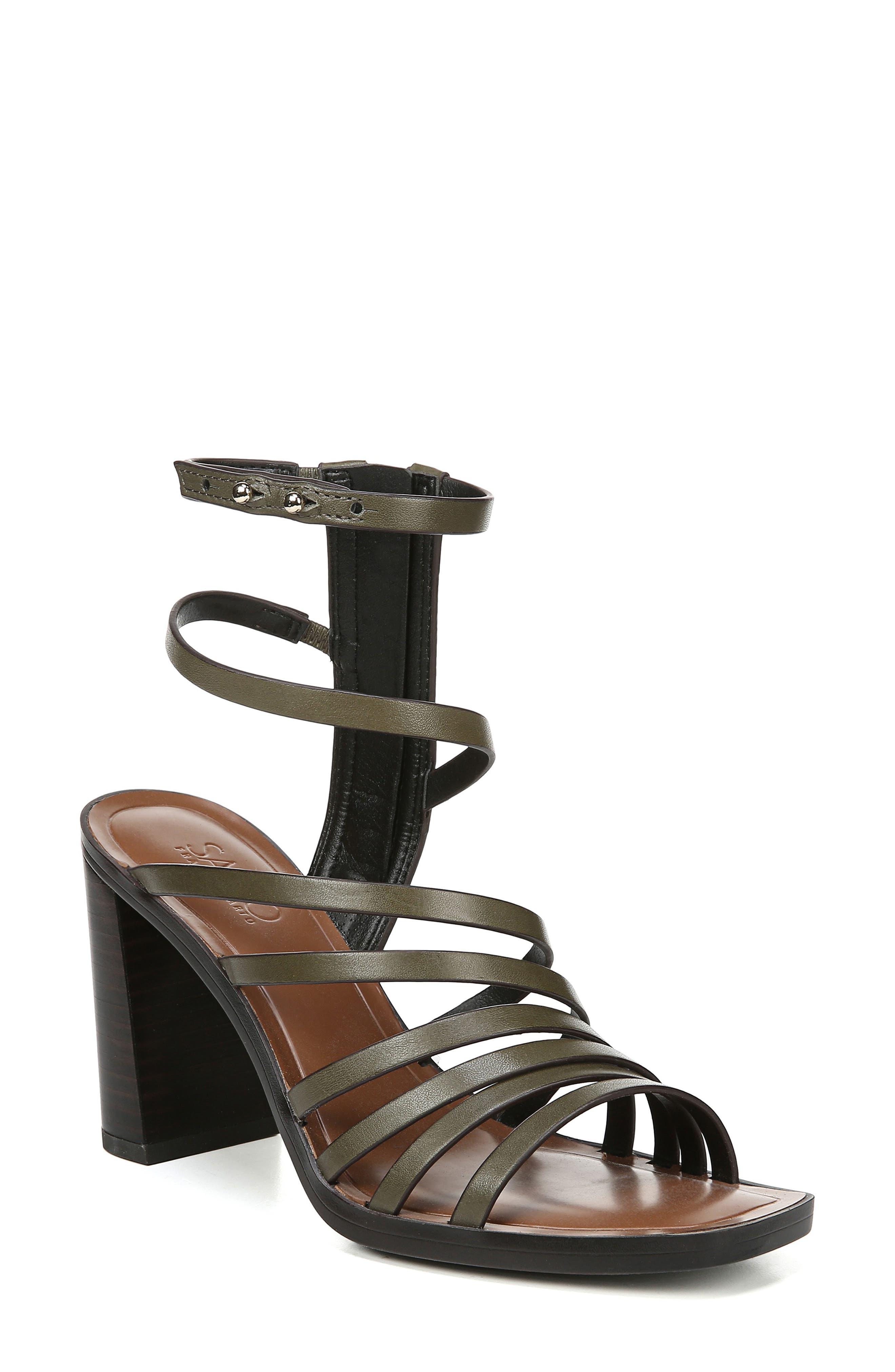 Sarto By Franco Sarto Winnie Strappy Sandal- Green