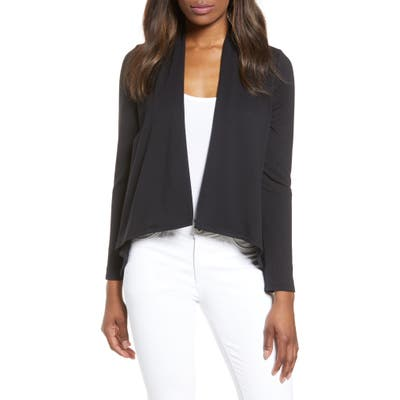Petite Gibson High/low Cardigan, Black