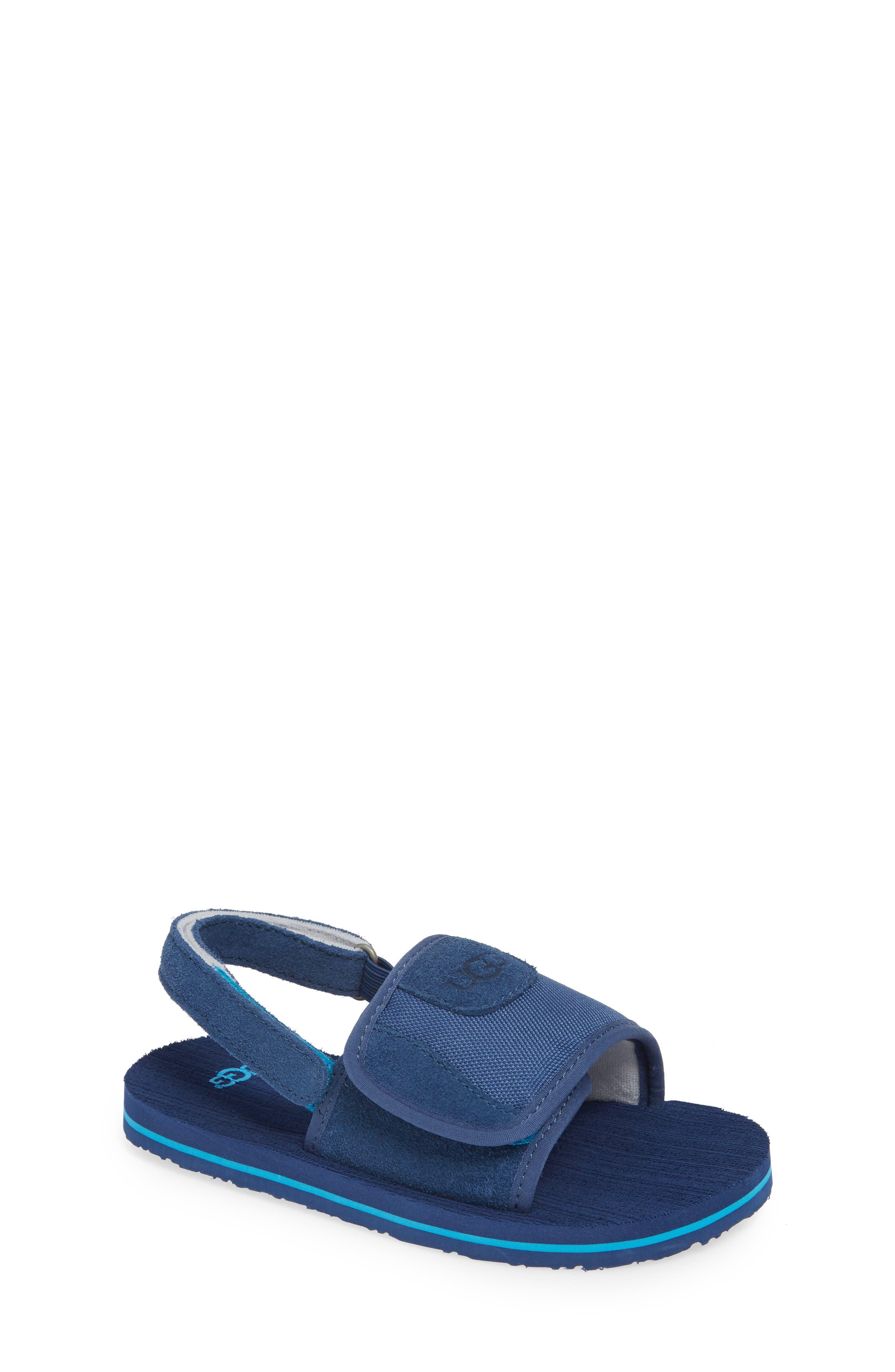 Beach Slingback Sandal, Main, color, ENSIGN BLUE