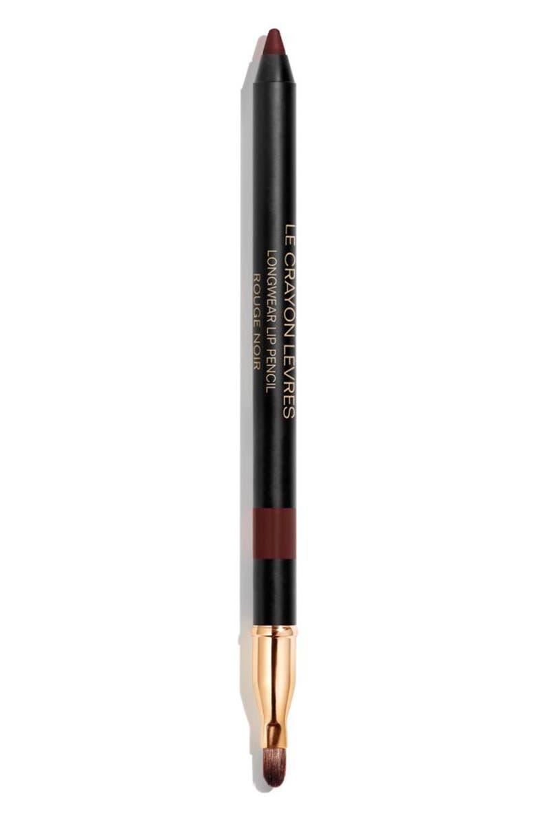 CHANEL LE CRAYON LÈVRES <br />Longwear Lip Pencil, Main, color, 194 ROUGE NOIR