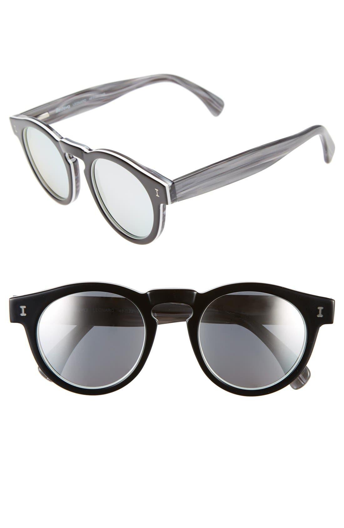 ,                             'Leonard' 47mm Sunglasses,                             Main thumbnail 5, color,                             003