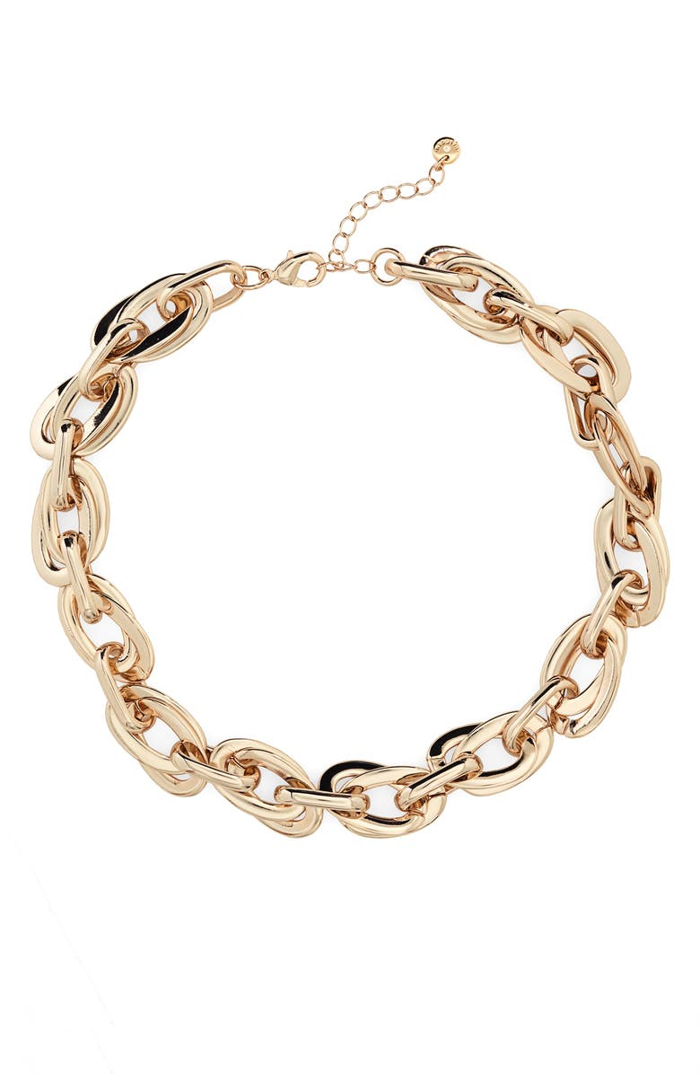 Double Link Collar Necklace by Halogen