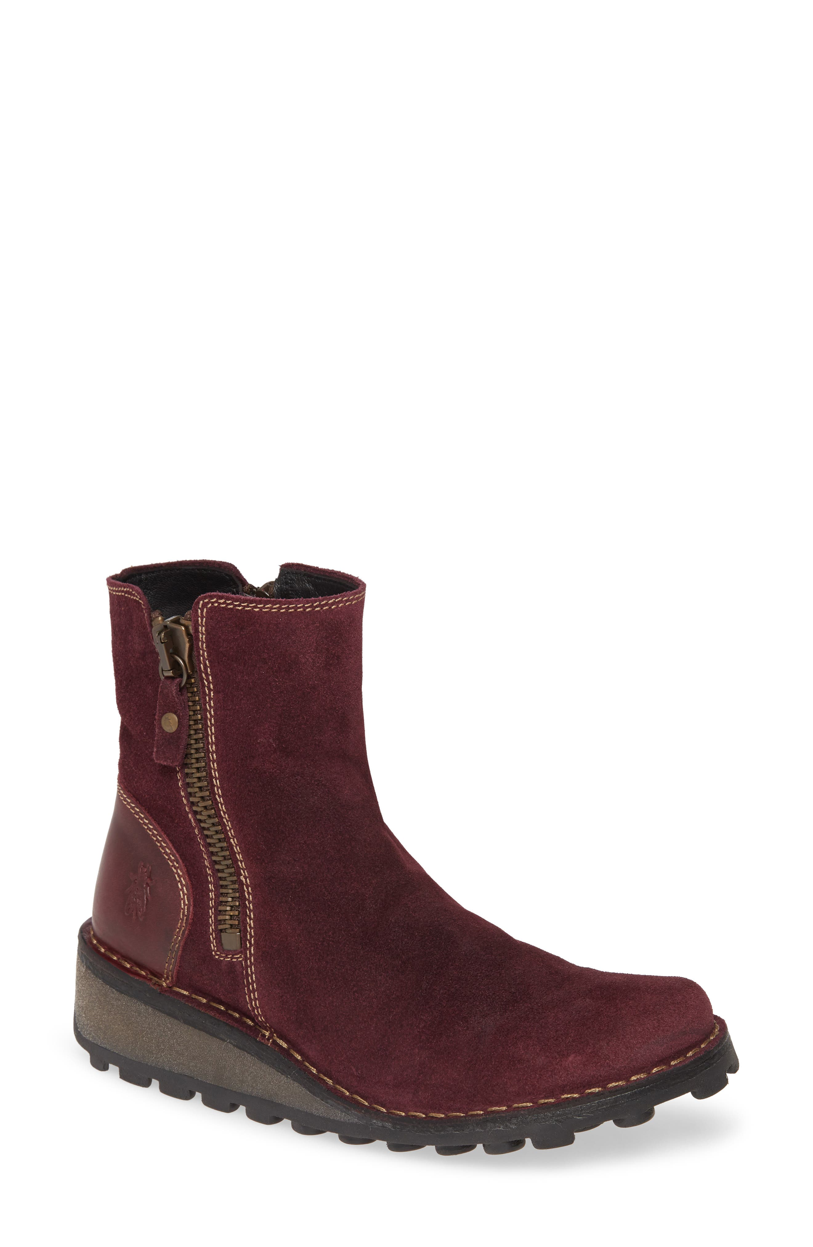 Fly London Mong Boot - Purple