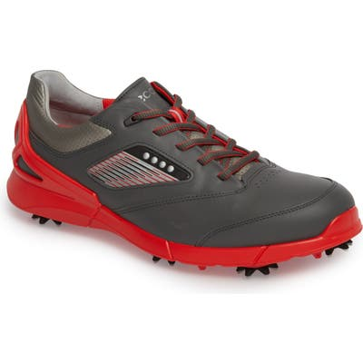 Ecco Base One Golf Shoe,8.5 - Red