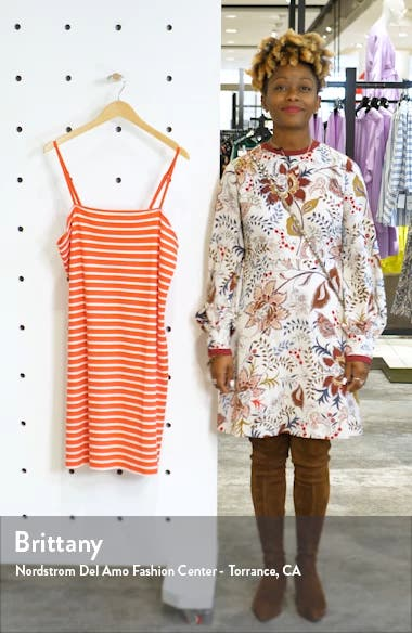 '90s Stripe Sleeveless Minidress, sales video thumbnail