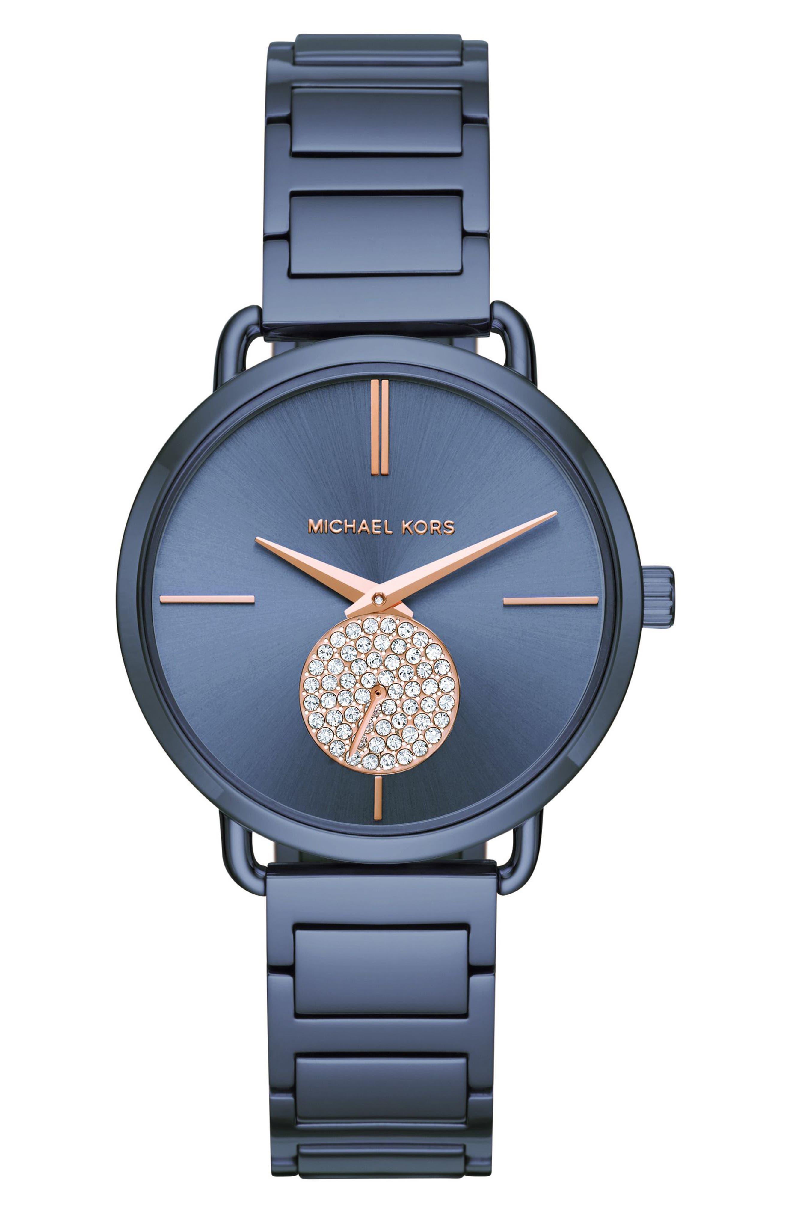 ,                             Portia Round Bracelet Watch, 36.5mm,                             Main thumbnail 11, color,                             400