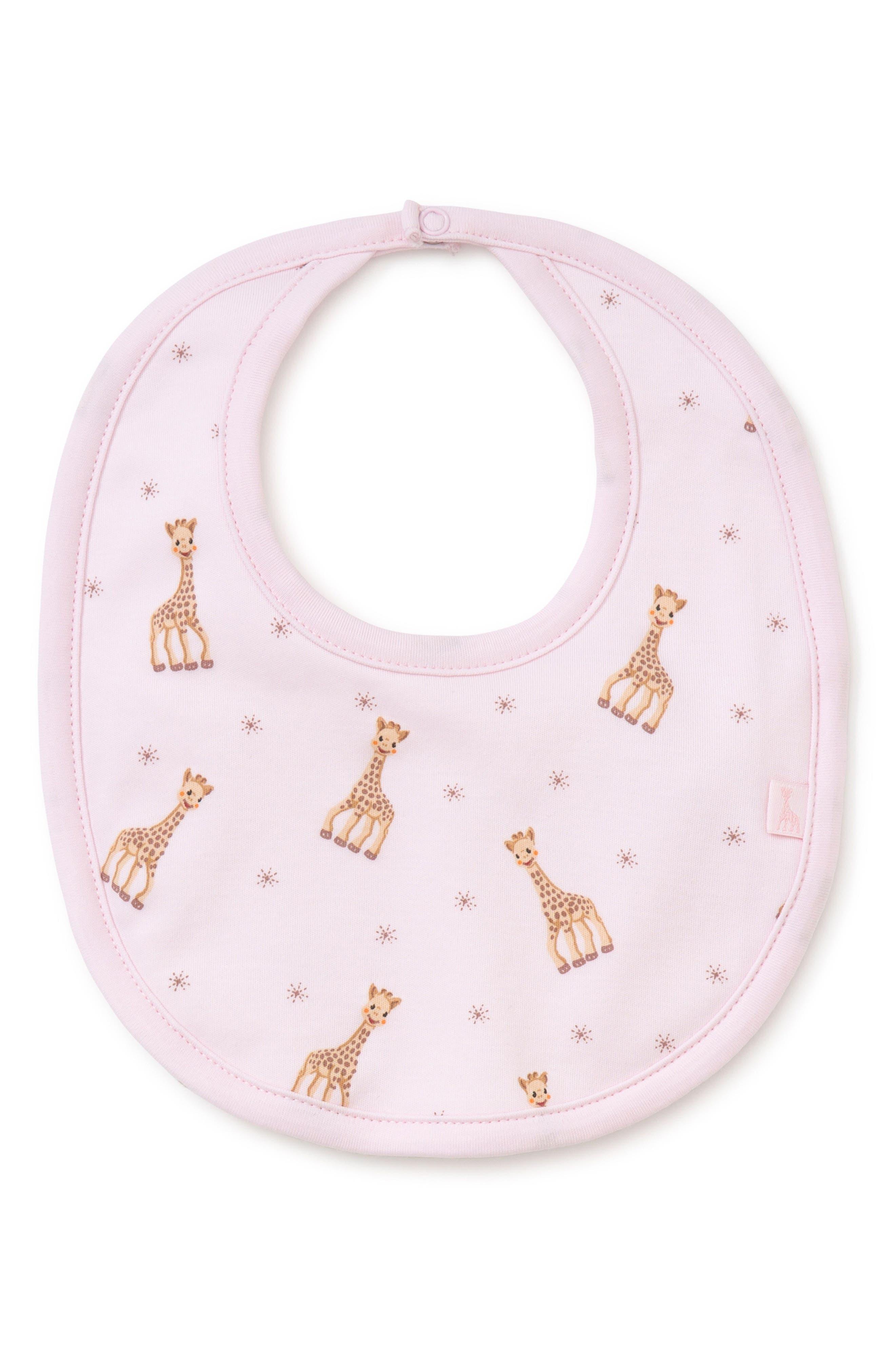 Infant Kissy Kissy X Sophie La Girafe Bib Size One Size  Pink