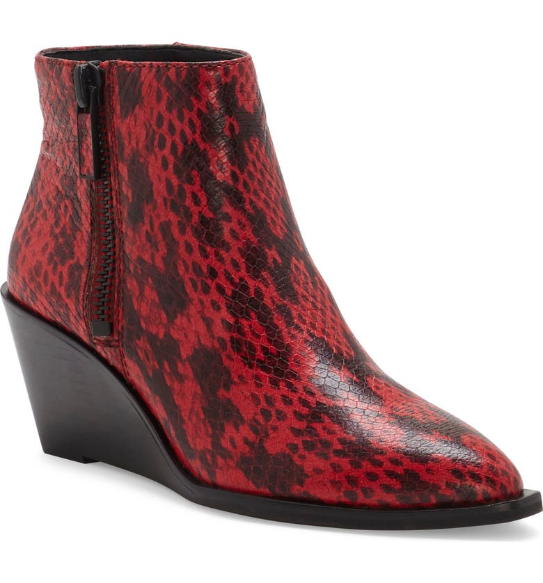 1.STATE Kipp Wedge Bootie, Main, color, SCARLET