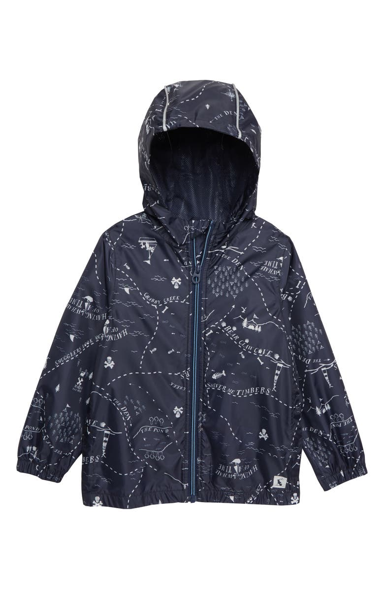JOULES Rainyday Waterproof Jacket, Main, color, NAVY CAMPER