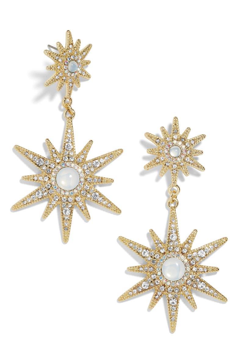 BAUBLEBAR Lamina Drop Earrings, Main, color, 710