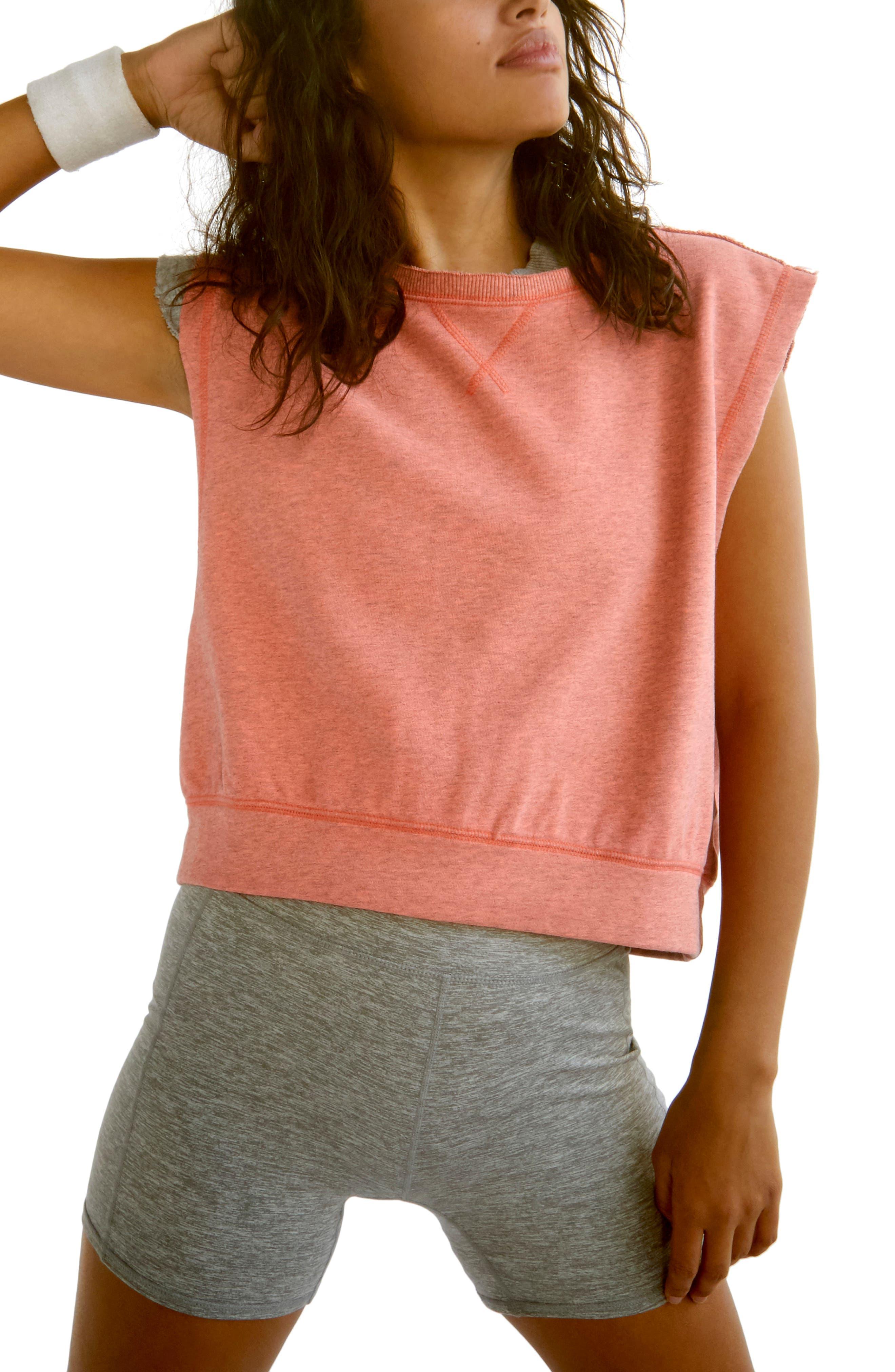 Kick It Sleeveless Sweatshirt