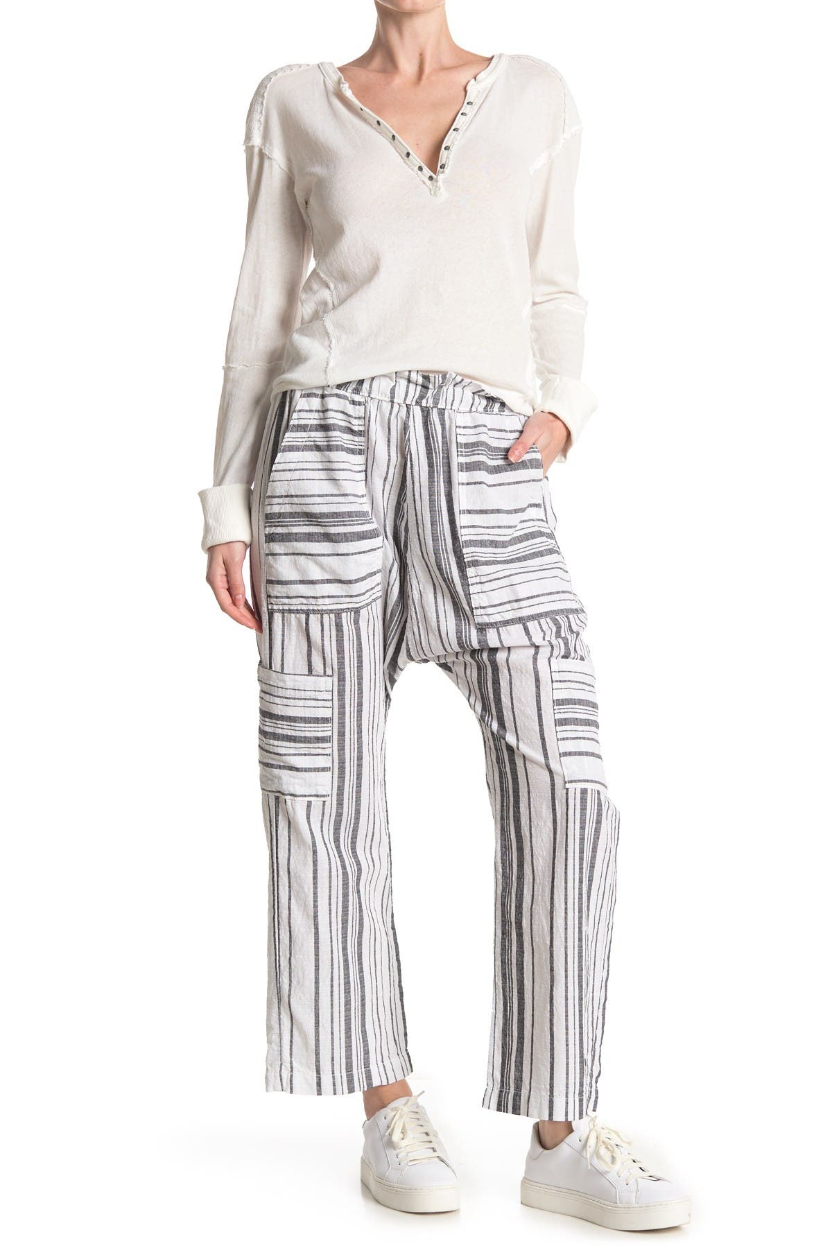 Image of NSF CLOTHING Shailey Paperbag Waist Pants
