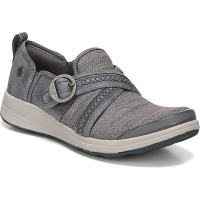 Bzees Indigo Slip-On Sneaker, Grey