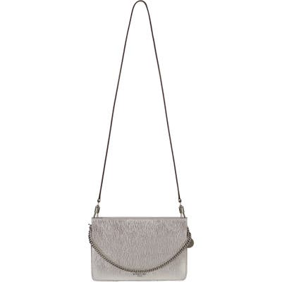 Givenchy Cross 3 Leather Crossbody Bag - Metallic