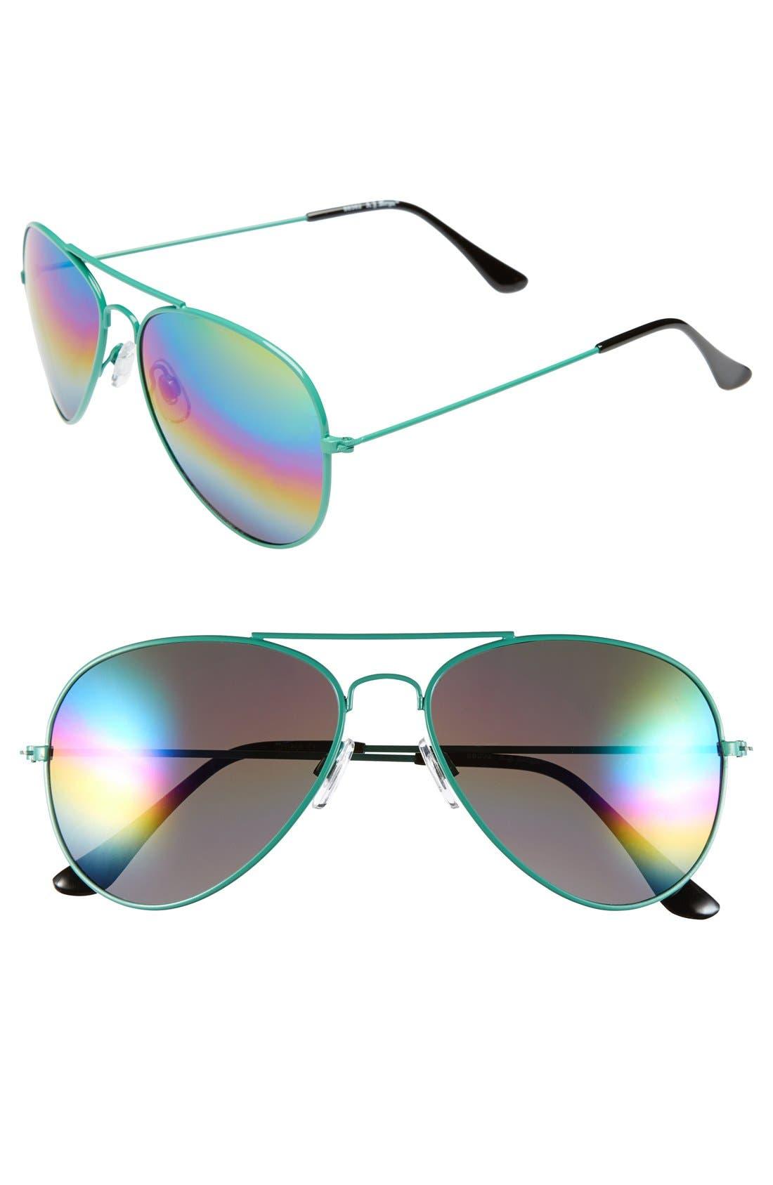 ,                             'Sunset' 57mm Aviator Sunglasses,                             Main thumbnail 2, color,                             300